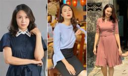 Ngắm phong cách thời trang 'chuẩn công sở' của Khuê trong 'Hoa hồng trên ngực trái'