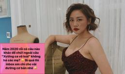 Bị 'cà khịa' Văn Mai Hương xoáy lại: 'Bí quá thì inbox em chỉ cho vài đường cơ bản'