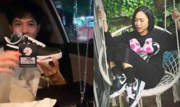 Cùng khoe giày hiệu G-Dragon, Diệu Nhi và Anh Tú không chỉ sang chảnh mà còn ngầm khẳng định mối quan hệ