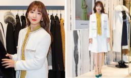 Cứ tóc dài là auto duyên dáng, Park Shin Hye có lên đồ không ăn ý với phụ kiện cũng được fan bỏ qua hết