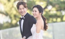 Hé lộ ảnh cưới ngọt ngào của em trai Kim Tae Hee và nữ vận động viên golf xinh đẹp