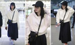 'Phú Sát Hoàng hậu' Tần Lam bỗng lùn tịt vì kiểu lên đồ dìm dáng