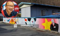 Quê nhà HLV Park Hang Seo tràn ngập tranh bích họa tôn vinh ĐT Việt Nam