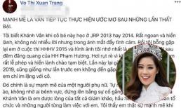 Trưởng BGK Hoa Hậu Hoàn Vũ Việt Nam 2019 nhắn gửi đến Hoa Hậu Khánh Vân
