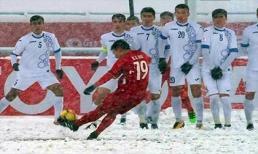 Siêu phẩm 'cầu vồng trong tuyết' của Quang Hải trở thành bàn thắng mang tính biểu tượng U23 châu Á