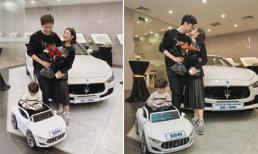 Hot girl Trang Lou tậu xế hộp hơn 4 tỉ vào dịp kỉ niệm 9 năm bên nhau