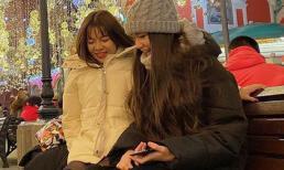 Bạn trai đã về Thái tập luyện, Yến Xuân khoe ảnh thân thiết bên em gái Đặng Văn Lâm tại Nga