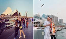 Diễn viên Chi Bảo cùng 'vợ yêu' Lý Thuỳ Chang đi du lịch ở Úc