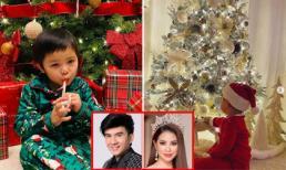 Sao Việt đồng loạt chia sẻ hình ảnh háo hức đón Giáng sinh của 'cậu ấm, cô chiêu'