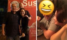 Vào dịp Noel, vợ cũ MC Thành Trung lần đầu khoe gương mặt chính diện của bạn trai Tây