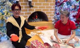 Chết cười xem Vũ Hà đập hộp quà 'hàng hiệu - triệu đô' Đàm Vĩnh Hưng tặng Giáng sinh
