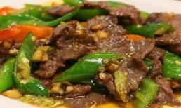 Tổng hợp các món thịt bò xào đổi bữa cho gia đình trong mùa bão giá thịt lợn