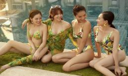 Lan Ngọc cùng hội 'Gái già lắm chiêu' khiến fan 'xịt máu mũi' khi diện bikini gợi cảm
