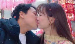 Hari Won và Trấn Thành khóa môi ngọt ngào kỷ niệm 3 năm ngày cưới trong lễ Giáng sinh ở Hàn Quốc