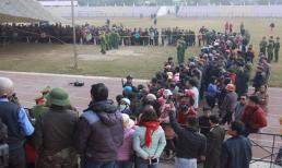 Hàng nghìn người dân theo dõi phiên tòa xét xử lưu động vụ án nữ sinh giao gà bị cưỡng bức, sát hại