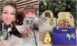 Quà 'sương sương' với 3 túi hiệu trị giá vài trăm triệu của con gái Minh Nhựa do mẹ ruột tặng