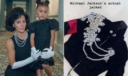 'Siêu vòng ba' Kim Kardashian chơi lớn, mua hẳn áo khoác Michael Jackson 1,5 tỷ tặng con gái
