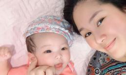 Con gái tròn 4 tháng, Lê Phương gây bất ngờ khi tuyên bố số cân giảm được