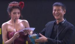 Sự cố hài hước tại lễ trao giải Ngôi sao xanh 2019: Hoa hậu Du lịch Quốc tế 2019 đọc tên quay phim thành bộ phận nhạy cảm của đàn ông