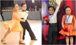Con trai Khánh Thi - Phan Hiển đoạt 2 huy chương bạc khi lần đầu thi khiêu vũ thể thao
