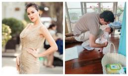 Siêu mẫu Phương Mai 'tố' chồng xung phong chăm con ngủ nhưng cái kết cực khó đỡ