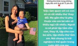 Hậu công khai đã làm mẹ, Hoa hậu Phạm Hương bật mí cách nuôi con kiểu Tây cực nhàn