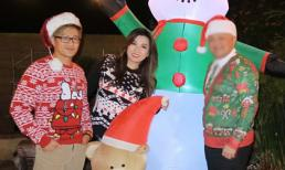 Vợ cũ Bằng Kiều thân thiết bên một người đàn ông vào dịp Noel, dân mạng nghi vấn là bạn trai mới