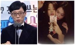 'MC quốc dân' Yoo Jae Suk nghẹn ngào nói về Goo Hara và Sulli, dàn Running Man còn đến thăm mộ cố nghệ sĩ