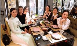 Hoa hậu Ngọc Hân, Đỗ Mỹ Linh cùng chị em Á hậu Trà My, Thanh Tú khoe sắc ngày hội ngộ