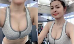 'Diễn viên từng lộ clip nóng' Yến Vy khoe body nóng bỏng ở tuổi 40