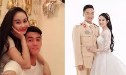 Bạn gái cũ của Tiến Linh đăng ảnh mặc váy cưới bên chồng sắp cưới