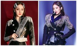 Địch Lệ Nhiệt Ba vướng nghi vấn đạo nhái Jennie (Black Pink) trong đêm nhạc mừng năm mới?