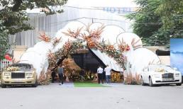 Chất như đám cưới của đại gia ở Quảng Ninh: Toàn siêu xe biển tứ quý, rạp cưới đã hơn 2,5 tỷ