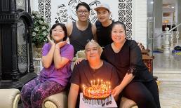 Minh Luân mang bánh kem đến chúc mừng ngày cưới NSND Hồng Vân, biểu cảm của tài tử Lê Tuấn Anh mới cực hài