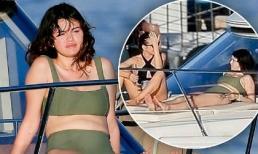 Dịp đầu năm mới, Selena Gomez phơi thân hình đẫy đà trên du thuyền hạng sang ở Hawaii