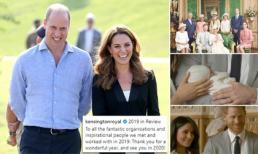 Gia đình Công nương Kate chia sẻ video tổng kết năm nhưng vẫn không quên gia đình em dâu khiến công chúng ca ngợi hết lời
