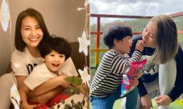 Ngọc Lan nghỉ việc nửa năm để đưa con trai ba tuổi vào... khuôn khổ