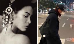 Song Joong Ki vừa 'chuyển nhà', Song Hye Kyo liền có động thái đáp trả lại còn đăng ảnh người đàn ông giấu mặt