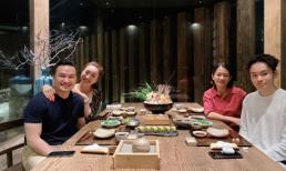 Diễn viên Chi Bảo lần đầu tiên đăng ảnh đưa người yêu đi ăn cùng con trai và vợ cũ