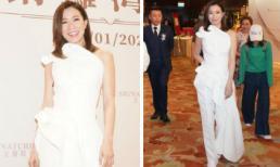 'Kế Hoàng hậu' Xa Thi Mạn gây chú ý với trang phục 'nửa váy nửa quần'