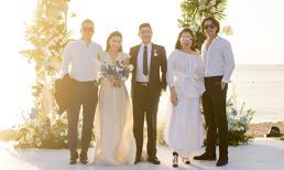 Vũ Khắc Tiệp sánh đôi cùng Phượng Chanel dự tiệc cưới giữa bão scandal, nhan sắc của Quách Ngọc Ngoan mới chiếm spotlight