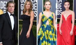 Thảm đỏ 'Quả cầu vàng 2020': Brad Pitt và vợ cũ Jennifer Aniston hội ngộ; dàn mỹ nhân thi nhau khoe vòng một gợi cảm