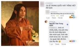 Trông thư sinh nho nhã nhưng xem cách Nguyễn Trần Trung Quân đáp trả anti-fan mới thật 'cao thủ'