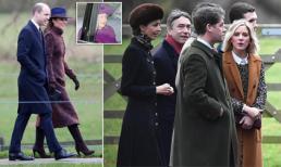 Công nương Kate đi nhà thờ dịp năm mới, lần đầu tiên xuất hiện công khai cùng 'tình địch' sau vụ lùm xùm ngoại tình của chồng
