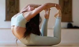 Kiên trì với 2 động tác yoga giúp giảm 5cm vòng eo trong 30 ngày