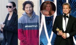 Angelina Jolie lộ diện bên con trai nuôi gốc Việt sau khi Brad Pitt dành lời có cánh cho Jennifer Aniston tại giải 'Quả cầu vàng'