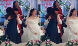 Bất ngờ với danh tính 'cô gái lạ' khiến chú rể bỏ mặc cô dâu gục đầu khóc trong đám cưới