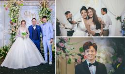 Đám cưới của cặp đôi trẻ gây chú ý khi mời được loạt sao Việt đình đám tham dự