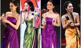 Chỉ một năm ngắn ngủi, Hoa hậu Hương Giang 'đại thắng' liên tiếp bốn lễ trao giải danh giá