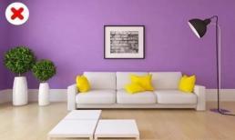 Mới xây nhà xong thì đừng có dại phối màu theo những cách này nếu không muốn phá nát cả ngôi nhà